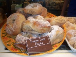 French Toast Bagels - YUM