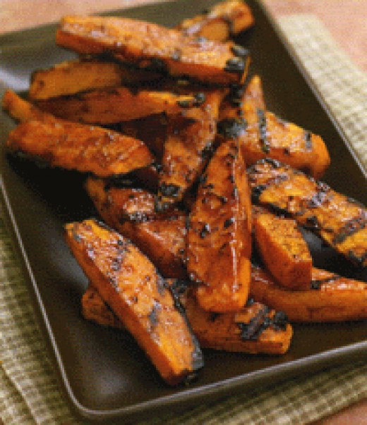 Switch up this recipe with sweet potatoes or yams for a sweet & spicy treat!
