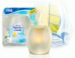 Enjoying flameless candles especially the glade luminary