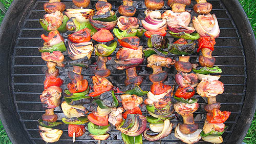 A skewer allows you to grill almost anyone kind of vegetable you like!