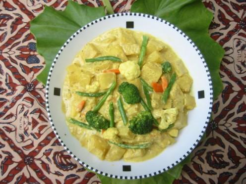 Delicious Jackfruit Curry