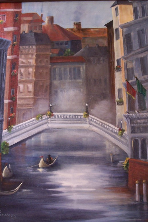 VENICE STREETS  BY  JEAN POWERS