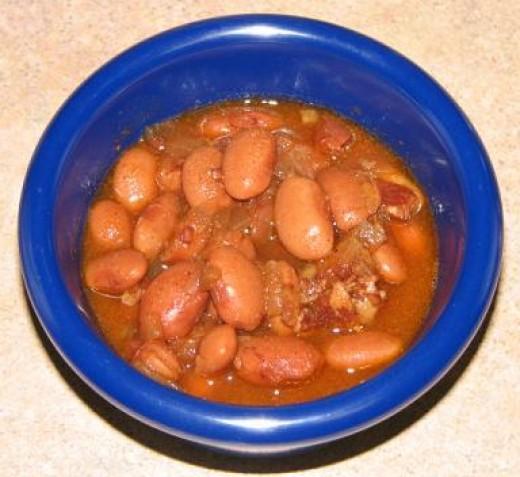 Delicious Pinto Beans Soup