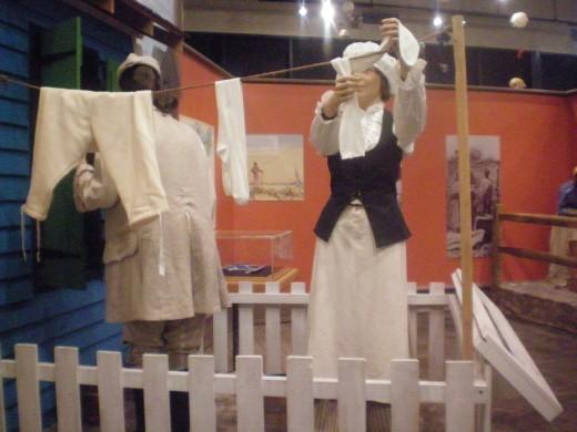 Everday life during the 1700's in Savannah, Ga.