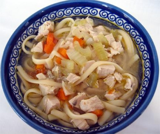 Delicious Homemade Chicken Noodle Soup
