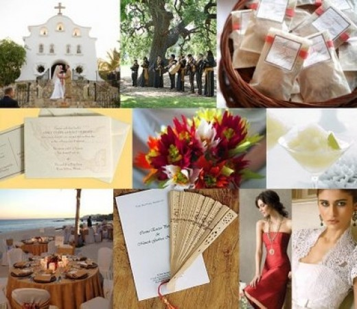 Mexican Themed Wedding Reception: Traditional Spanish Weddings And Dresses