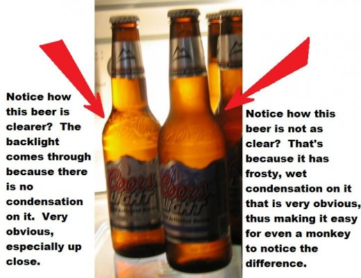 Coors Light Label Suggests Contempt For Consumer