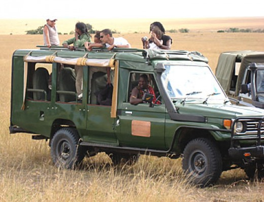 Illinois Senator, Barrack Obama, doing a game drive through the beautiful and pretty much a dream destination – Masai Mara, Kenya
