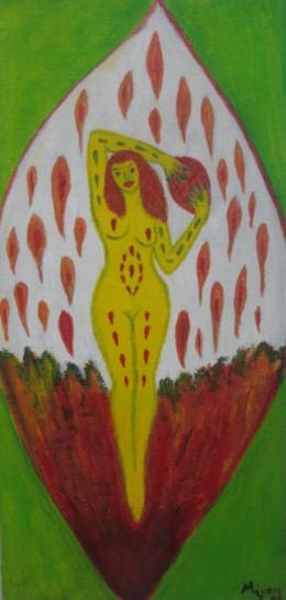 Artistic Nude Artwork, Female Nude Art by Injete Chesoni: Carlista