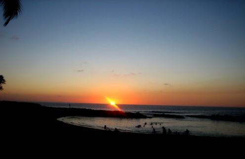 Ko Olina Cove Sunset