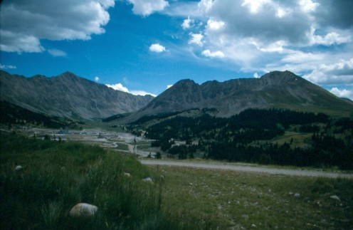 Fremont Pass and the Climax Mine.