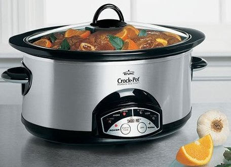This recipe is for the crock pot or slow cooker and this recipe works great in a slow cooker or crock pot.
