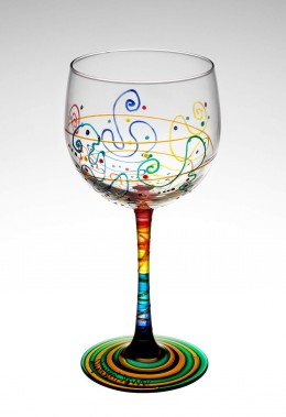 Ideas for Hand-Painted Wine Glasses | eHow