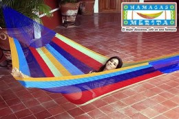 Authentic Hand-woven Mexican Hammock