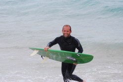 Shortboard out of action