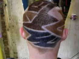 Extreme hair designs for Men