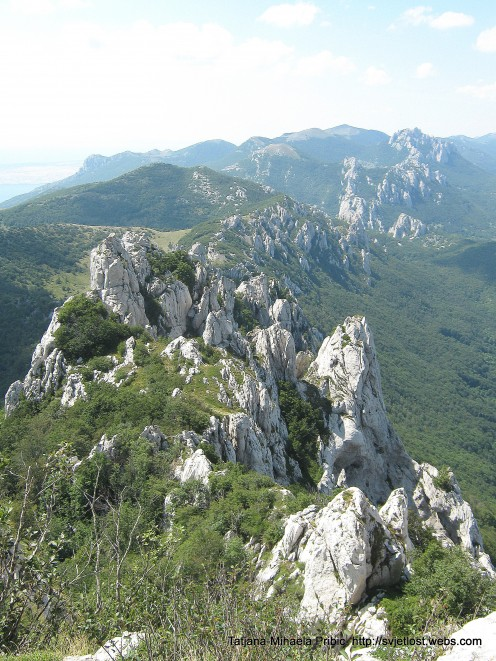 Beaver´s cliffs - Dabarski kukovi - 7 miles long