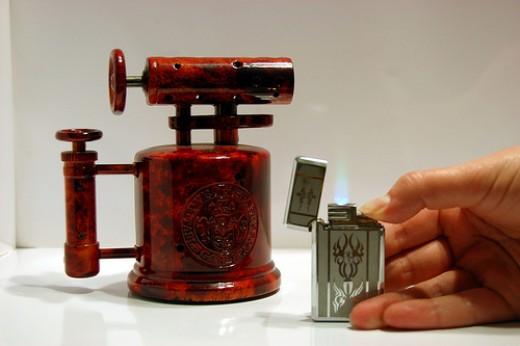 Antique Cigarette Lighters Vs. New Lighters
