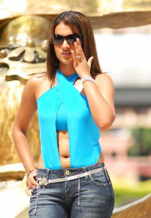 Trisha Krishnan is a chameleon when she dresses hot