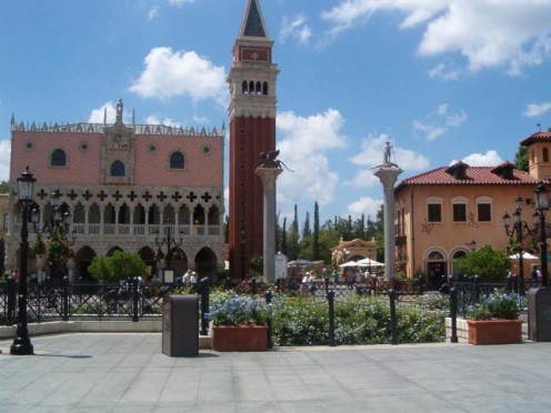 World Showcase: Italy. Courtesy webshots.com