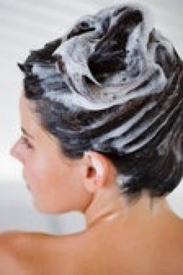 Let Clarifying Shampoo sit  in hair for a minute or two