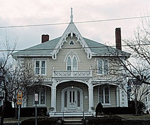 Victorian home styles for Victorian gothic style
