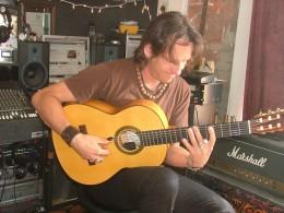 Michael Jost at work in his studio