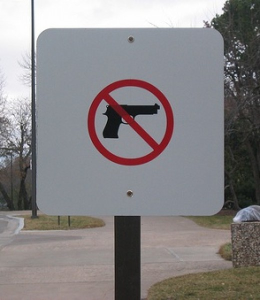 Signs like these will soon be removed from many university campuses.
