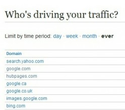 Search Engine Traffic Source