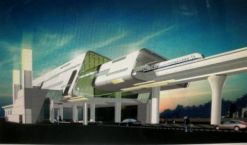 Metro Station ( artists impression )