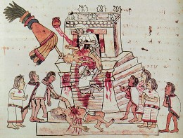 Not everything about the Maya could be classed as civilized. Some of it was pretty awful.
