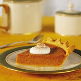 Bourbon-laced Sweet Potato Pie