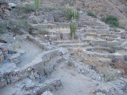 A popular tourist attraction in Argentina: Ruinas de Quilmes