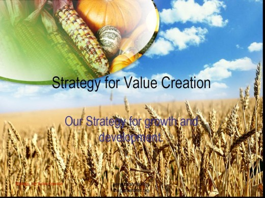 Creating Value 1