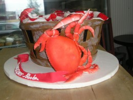 all edible - good for Cancer the crab birthday