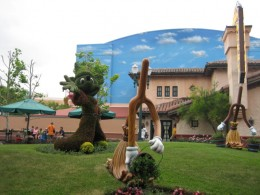 Sculptures from Disney's Fantasia