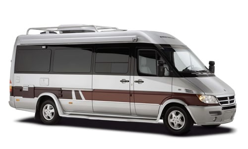Airstream Luxury Class B Motorhome Van based on the Sprinter Chassis
