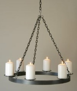 Non electric chandeliers chandelier online Hanging candle chandelier non electric