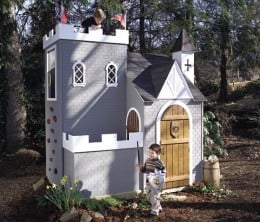 KIDS Magical fort castle playhouse plans | eBay