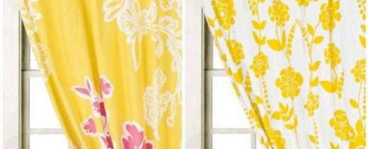 Yellow Kitchen Curtains Kitchen Design Photos
