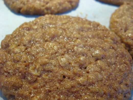 Mmm, fresh ANZAC biscuits - don't call them cookies!