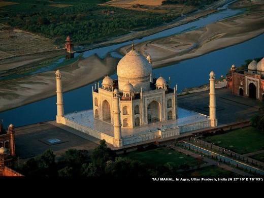 Taj Ariel View
