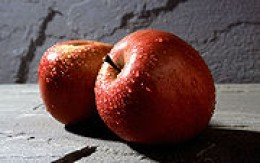 Ripe Fuji Apples