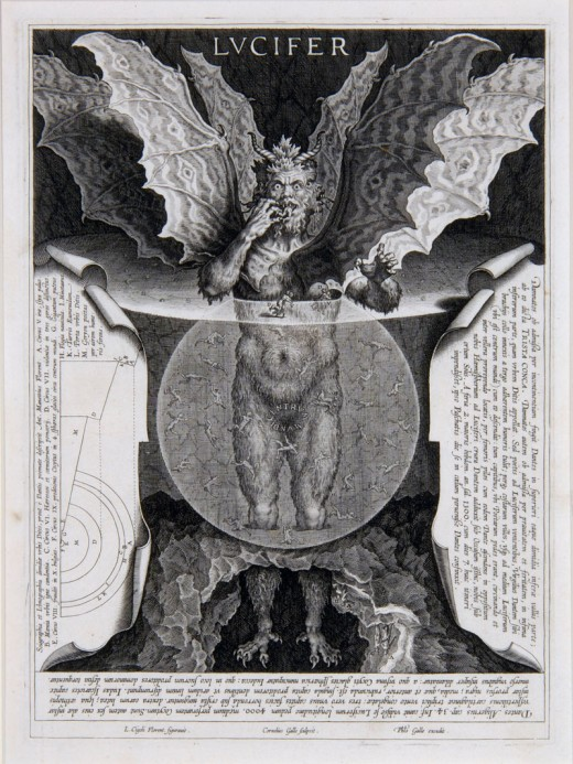 Lucifer. Haven't seen this in Divine Comedy