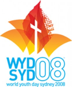 """The theme of World Youth Day 2008 will be """"You will receive power when the Holy Spirit comes upon you; and you will be my witnesses"""" (Acts1:8)"""