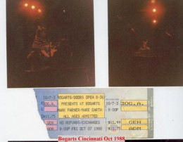 Bogarts in Cincinnati Oct.1988