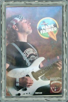 Signed poster from show at Bogarts arena Cincinnati Oho Oct.1988