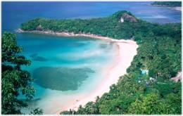 Cebu Island white sandy beach