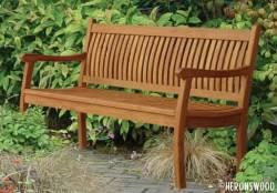 Heronswood Teak Bench