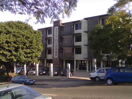 A typical Durban commercial property to let or for sale